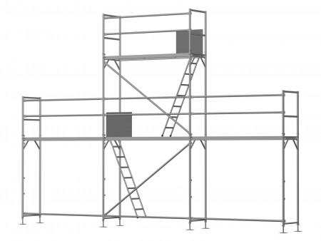 Giebelgerüst mini xtra - 2,5 m Felder
