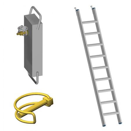 Clips, Ballast, Treppen, Einzelteile Fahrgerüste Handwerkerausführung