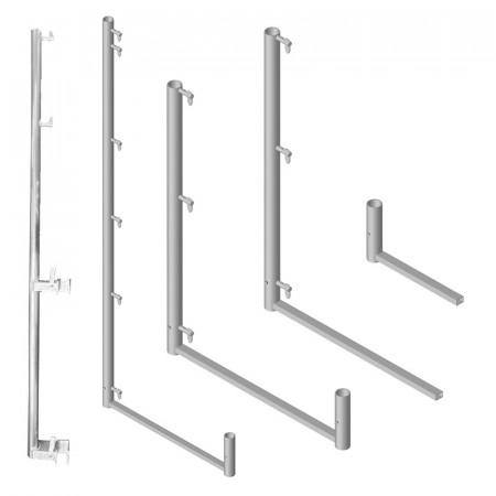 Geländerhalter für Fassadengerüste
