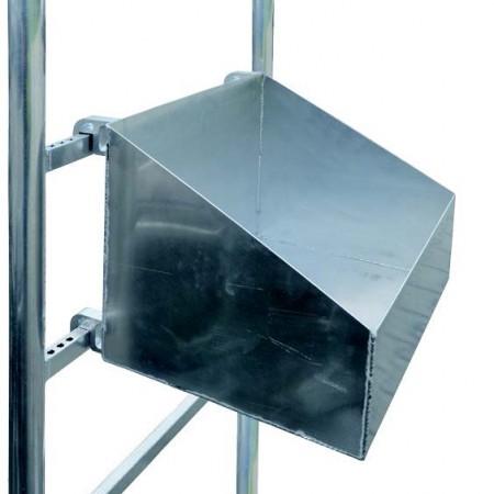 Werkzeugbox Alu für Fahrgerüste Handwerkerausführung