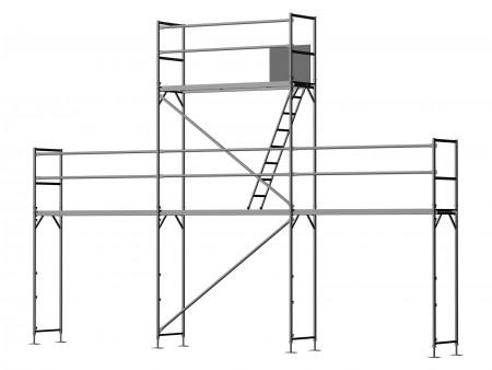 Giebelgerüst mini xtra B - 2,5 m Felder