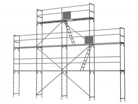 Giebelgerüst klein B - 2,5 m Felder