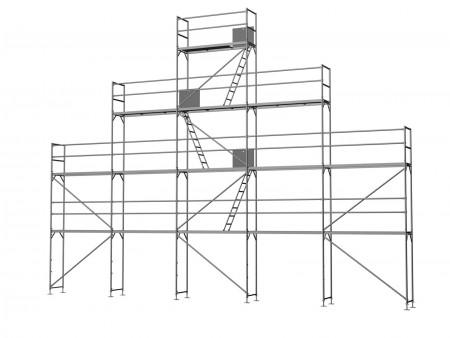 Giebelgerüst groß B - 2,5 m Felder