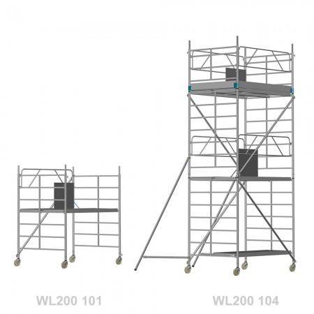 Watzmann LIGHT 200 - Länge: 2,00 m - Breite: 1,50 m