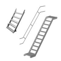 Treppen und Zubehör für Fassadengerüste