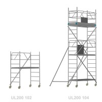 Universal LIGHT 200 - Länge: 2,00 m - Breite: 0,80 m
