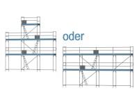Giebelgerüst mini - 3,0 m Felder