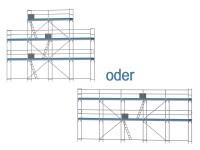 Giebelgerüst klein - 3,0 m Felder