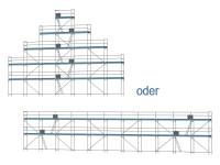 Giebelgerüst maxiXL - 3,0 m Felder
