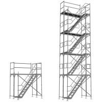 Treppenturm doppelt 2,5 m lang