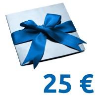 Geschenk-Gutschein im Wert von 25 EUR