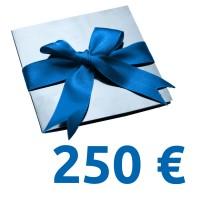 Geschenk-Gutschein im Wert von 250 EUR