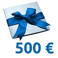 Geschenk-Gutschein im Wert von 500 EUR