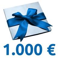 Geschenk-Gutschein im Wert von 1.000 EUR