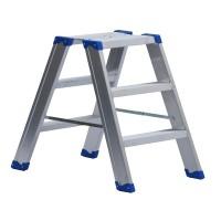 Leiterntritt 420 mm breit mit Stahlgelenken