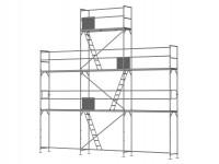 Giebelgerüst mini - 2,5 m Felder