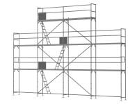 Giebelgerüst klein - 2,5 m Felder