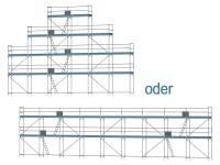 Giebelgerüst maxi - 2,5 m Felder