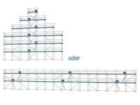 Giebelgerüst maxi xtra - 2,5 m Felder